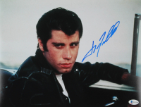 "John Travolta Signed ""Grease"" 11x14 Photo (Beckett COA) at PristineAuction.com"