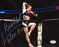 "Valentina Shevchenko Signed UFC 8x10 Photo Inscribed ""Bullet"" (PSA COA) at PristineAuction.com"