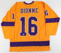 """Marcel Dionne Signed Jersey Inscribed """"HOF 92"""" (JSA COA) at PristineAuction.com"""