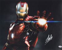 "Stan Lee Signed ""Iron Man"" 16x20 Photo (PSA COA) at PristineAuction.com"