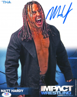 Matt Hardy Signed 8x10 Photo (PSA COA) at PristineAuction.com