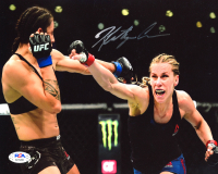 Katlyn Chookagian Signed UFC 8x10 Photo (PSA COA) at PristineAuction.com