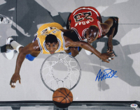Magic Johnson Signed Lakers 16x20 Photo (PSA COA) at PristineAuction.com