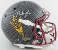 N'Keal Harry Signed Full-Size Authentic On-Field Hydro-Dipped Helmet (Beckett COA) at PristineAuction.com