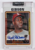 Bob Gibson 2005 Topps All-Time Fan Favorites Autographs #BG (Topps Encapsulated) at PristineAuction.com