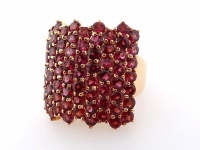 9.40ct Natural Rhodolite Garnet Ring (GAL Certified) at PristineAuction.com