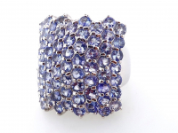 6.70ct Natural Tanzanite Ring (GAL Certified) at PristineAuction.com