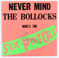 "Johnny Rotten Signed Sex Pistols ""Never Mind The Bollocks"" Vinyl Record Album Inscribed ""Was Here"" (JSA Hologram) at PristineAuction.com"
