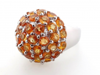 5.60ct Natural Multi-Colored Sapphire Ring (GAL Certified) at PristineAuction.com