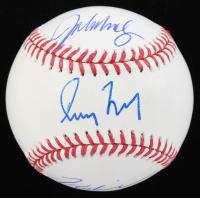 Greg Maddux, Tom Glavine & John Smoltz Signed OML Baseball (Beckett LOA) at PristineAuction.com