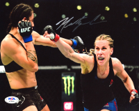 Katlyn Chookagian Signed UFC 8x10 Photo (PSA COA) at PristineAuction.com