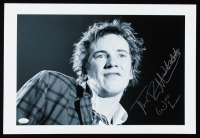 "Johnny Rotten Signed 12x18 Photo Inscribed ""Was Here"" (JSA Hologram) at PristineAuction.com"