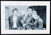 Johnny Rotten Signed 12x18 Photo (JSA Hologram) at PristineAuction.com