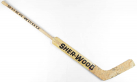 Wendell Young Game-Used Lightning Sher-Wood Hockey Stick (YSMS COA) at PristineAuction.com