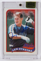Lenny Dykstra 2015 Topps Archives Signature Series #435 (Topps Encapsulated) at PristineAuction.com
