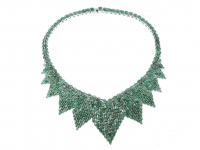 40.80ct Natural Emerald Necklace (GAL Certified) at PristineAuction.com