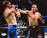 Tony Ferguson Signed UFC 8x10 Photo (PSA COA) at PristineAuction.com