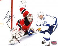 Keith Kinkaid Signed Devils 8x10 Photo (Kinkaid Hologram) at PristineAuction.com