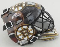 Tuukka Rask Signed Bruins Mini Helmet (Rask COA) at PristineAuction.com