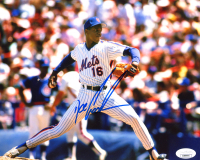 """Dwight """"Doc"""" Gooden Signed Mets 8x10 Photo (JSA COA) at PristineAuction.com"""
