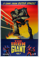 """The Iron Giant"" 27x40 Teaser Movie Poster at PristineAuction.com"