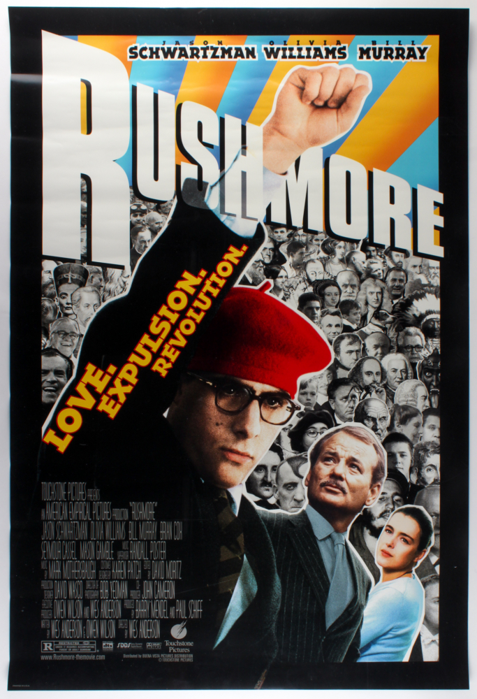 """Rushmore"" 27x40 Movie Poster at PristineAuction.com"
