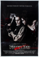 """Sweeney Todd: The Demon Barber of Fleet Street"" 27x40 Movie Poster at PristineAuction.com"