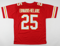 Clyde Edwards-Helaire Signed Jersey (JSA COA) at PristineAuction.com