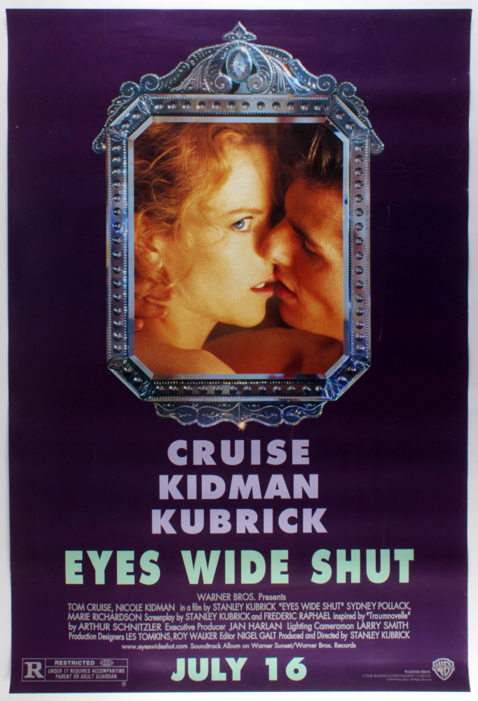 """""""Eyes Wide Shut"""" 27x40 Movie Poster at PristineAuction.com"""