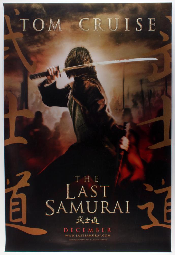 """The Last Samurai"" 27x40 Movie Poster at PristineAuction.com"