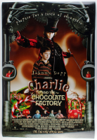 """Charlie & The Chocolate Factory"" 27x40 Movie Poster at PristineAuction.com"