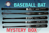 Schwartz Sports Baseball Superstar Signed Full Size Bat Mystery Box – Series 10 (Limited to 100) at PristineAuction.com