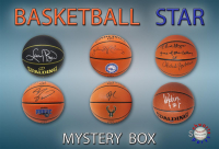 Schwartz Sports Basketball Superstar Signed Basketball Mystery Box - Series 19 (Limited to 100) (Pristine Exclusive Edition) at PristineAuction.com