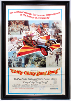 "Dick Van Dyke Signed ""Chitty Chitty Bang Bang"" 30x43 Custom Framed Movie Poster Display (PSA COA) at PristineAuction.com"