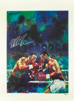 Mike Tyson Signed 22x30 LeRoy Neiman Vintage Lithograph on Textured Paper (PSA Hologram) at PristineAuction.com
