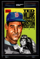 Ted Williams 2020 Topps Project 2020 #262 / Jacob Rochester (Project 2020 Encapsulated) at PristineAuction.com