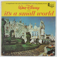 "Vintage 1964 Disneyland ""It's a Small World"" Vinyl Record Album at PristineAuction.com"