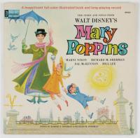"Original Vintage 1964 Walt Disney's ""Mary Poppins"" Vinyl Record LP at PristineAuction.com"