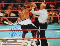 Mike Tyson Signed 11x14 Photo (PSA COA) at PristineAuction.com