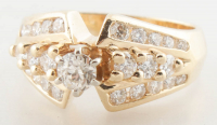 1.00ct Diamond Engagement Ring 14kt Yellow Gold (Heritage Appraisal) at PristineAuction.com