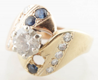 1.41ct Diamond Ring 14kt Two-Toned Gold (Heritage Appraisal) at PristineAuction.com