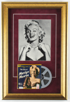 Marilyn Monroe 14.5x21.5 Custom Framed Photo Display with Vintage 8mm Film Reel at PristineAuction.com