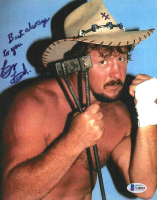 "Terry Funk Signed 8x10 Photo Inscribed ""Best Always To You"" (Beckett COA) at PristineAuction.com"