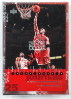 1997 Upper Deck Michael Jordan Championship Journals Basketball (24) Card Set at PristineAuction.com