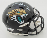 James Robinson Signed Jaguars Speed Mini Helmet (Beckett COA) at PristineAuction.com