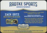 Zach Ertz Signed Eagles 16x20 Photo (Radtke COA) at PristineAuction.com