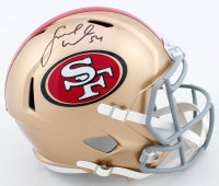 Fred Warner Signed 49ers Full-Size Speed Helmet (Beckett COA) at PristineAuction.com