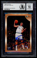 Dirk Nowitzki Signed 1998-99 Topps #154 RC (Beckett Encapsulated) (Autograph Graded 10) at PristineAuction.com