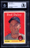 Bud Daley Signed 1958 Topps #222 RC (BGS Encapsulated) at PristineAuction.com