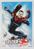 "Stan Lee Signed ""The Superior Spider-Stan"" 13x19 Art Print (JSA COA) at PristineAuction.com"